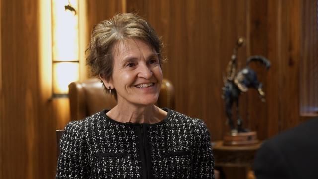 University of Wyoming President Dr. Laurie Nichols