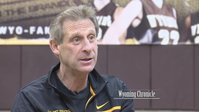 UW Basketball Coach Larry Shyatt