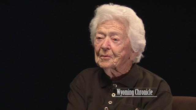 Centenarian Helen Potts