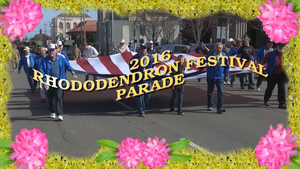 2016 Rhododendron Parade