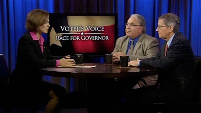 KERA Specials: Voter's Voice: Race for Governor