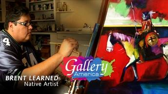On the Next Gallery America | Artist Brent Learned
