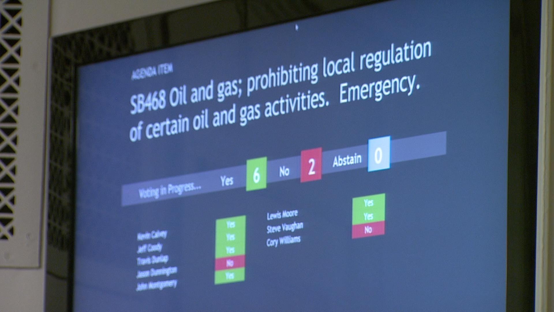 Video drilling regulations watch onr online oklahoma for Oeta schedule