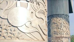 HIKI NŌ Episode 819 - Top Story: Hawaii artwork on columns