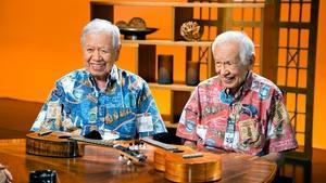 Sam Kamaka Jr. and Fred Kamaka Sr.
