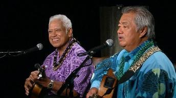 Richard Ho'opi'i and George Kahumoku Jr.