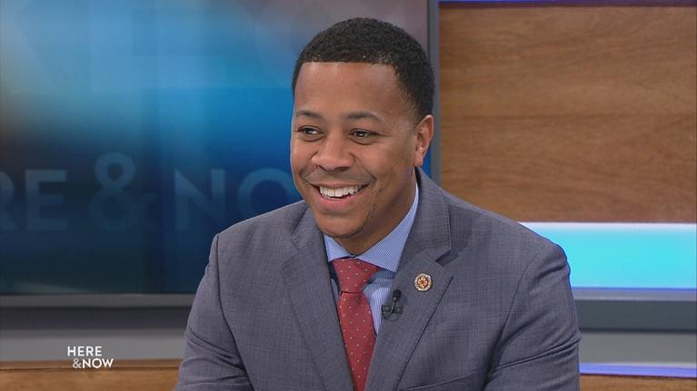 Here and Now: Gubernatorial Candidate Mahlon Mitchell On Jobs, Healthcare