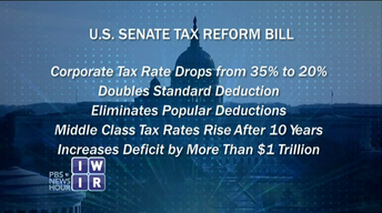 Senate GOP Tax Bill Fallout - December 8, 2017