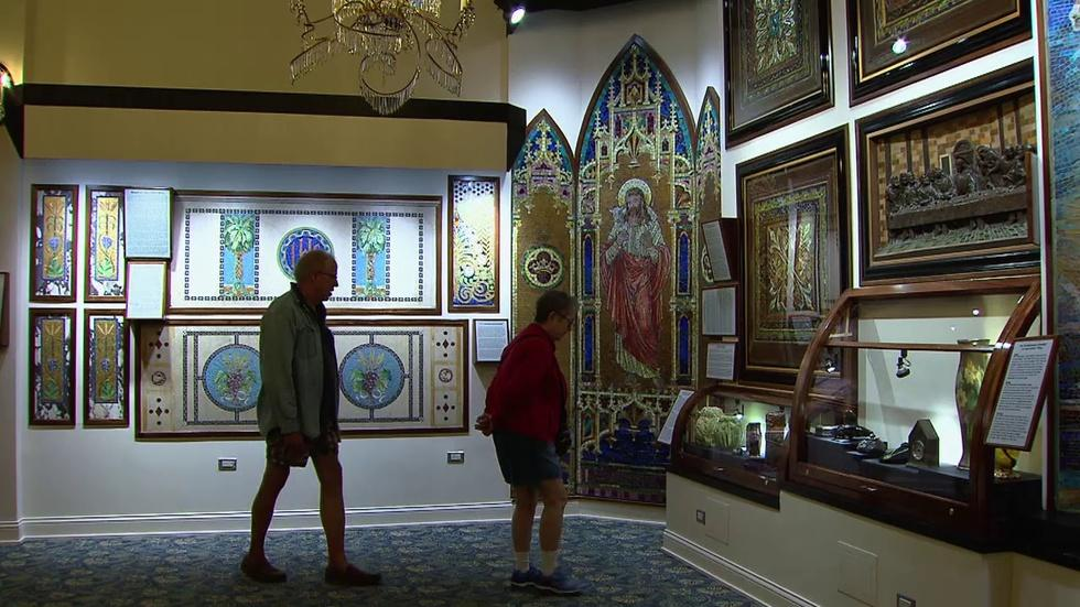 New Museum Showcases Stained Glass, Rare Clocks image