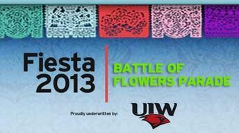 FIESTA 2013  |  Battle of Flowers Parade