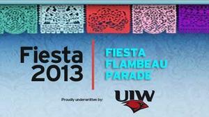 FIESTA 2013  |  Fiesta Flambeau Parade