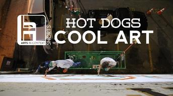 Hot Dogs Cool Art