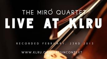 Miro Quartet Live (full concert)