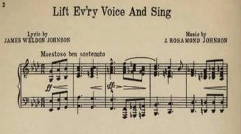Lift Ev'ry Voice and Sing: Black National Anthem