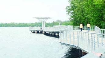 Lady Bird Lake Hike and Bike Boardwalk to Open June 2014