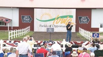 Texas Tribune: Perry Campaign in Iowa Kicks Off