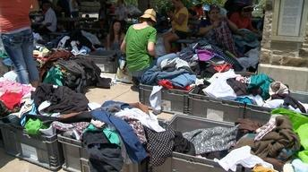 Free Clothing and Community Building at East Austin Meetup