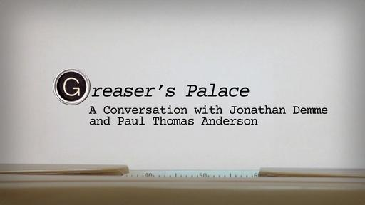 A Conversation w/ Jonathan Demme & Paul Thomas Anderson Pt 1 Video Thumbnail