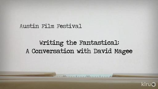 Writing The Fantastical: A Conversation With David Magee Video Thumbnail