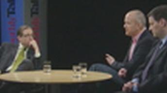 Authors & Political Commentators Mark Halperin & John...