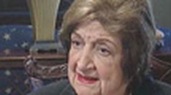 Journalist Helen Thomas