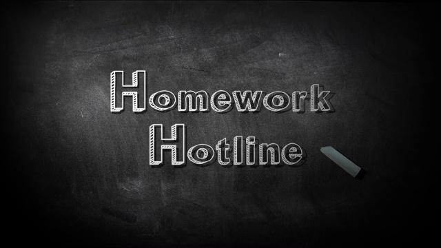 homework hotline hilliard station