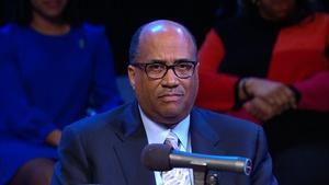 Dr. Everett B. Ward, president of Saint Augustine's Universi