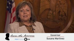 LEARN THE ADDRESS: Governor Susana Martinez