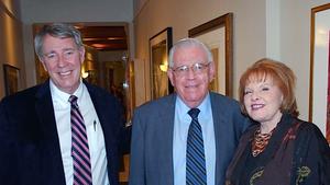 Senators John Arthur Smith (D) & Stuart Ingle (R)