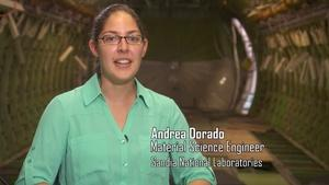Andrea Dorado, Material Science Engineer