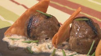 Lamb Meatballs & Cucumber Tzaziki