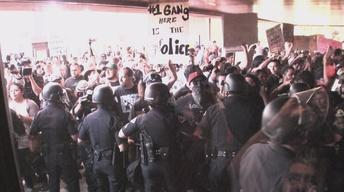 Clash Over Cops