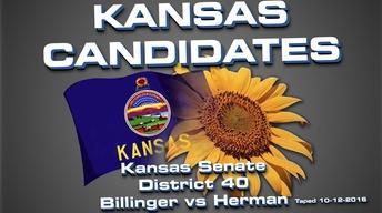 Kansas Candidates:  KS Senate 40 Billinger vs Herman
