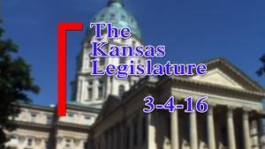 Kansas Legislature Show  2016-03-04