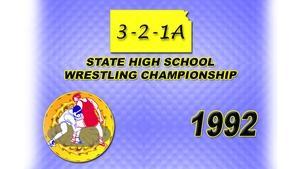 321A Wrestling 1992 Championship