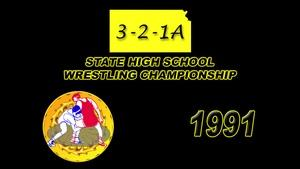 321A Wrestling 1991 Championship