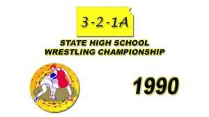 321A Wrestling 1990 Championship