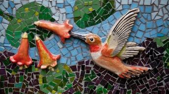 Marquam Mosaic Showcases Local Flora & Fauna
