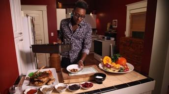 Cook It At Home: Gregory Gourdet's Spice-Roasted Chicken