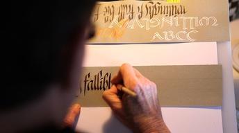Carol DuBosch: Master Calligrapher