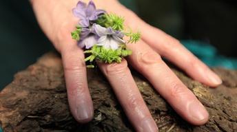 Françoise Weeks' Botanical Ring