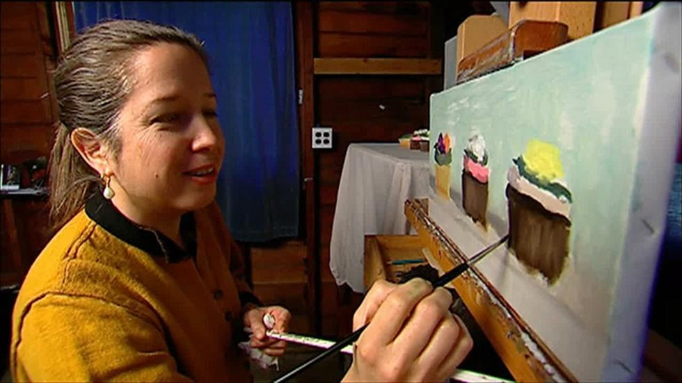Painter Lisa Caballero image