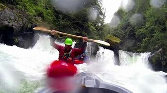 Reflections of Summer: Behind the Scenes: Waterfall Kayaking