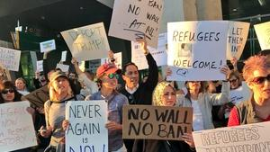 Roundtable: San Diegans Cope With Trump Order; VA Wait Times