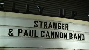 Live at the Belly Up: Stranger/ Paul Cannon Band