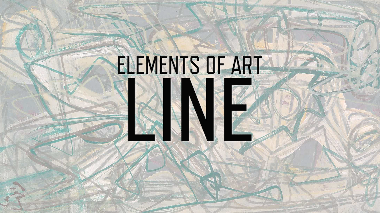 What Is The Definition Of Line In Art : Video elements of art line watch school online