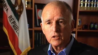 "Gov. Brown Interview, Tijuana Tunnels, ""Inside Out"""