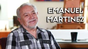 Muralist and sculptor Emanuel Martinez