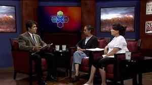 Dr. Satya Rao and Sandra White