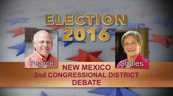 Election 2016 NM 2nd Congressional Debate